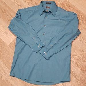 Men's Poplin Button Down Shirt